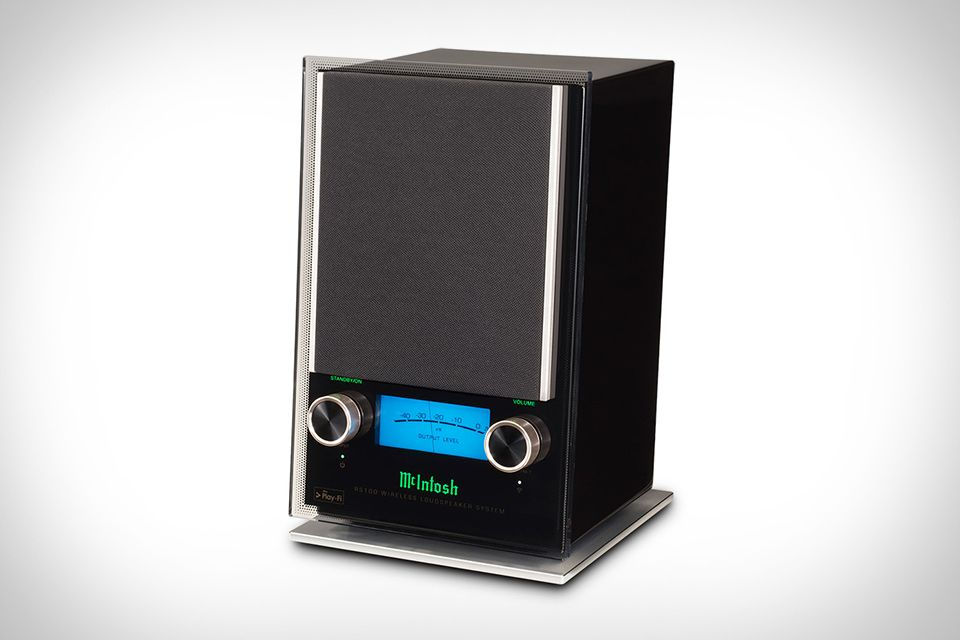 Stream Wirelessly From Any Room In Your Home Or Office With The Mcintosh Rs100 Wireless Speaker