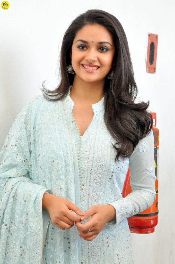 Actress Keerthy Suresh Latest Images Mahanati Interview