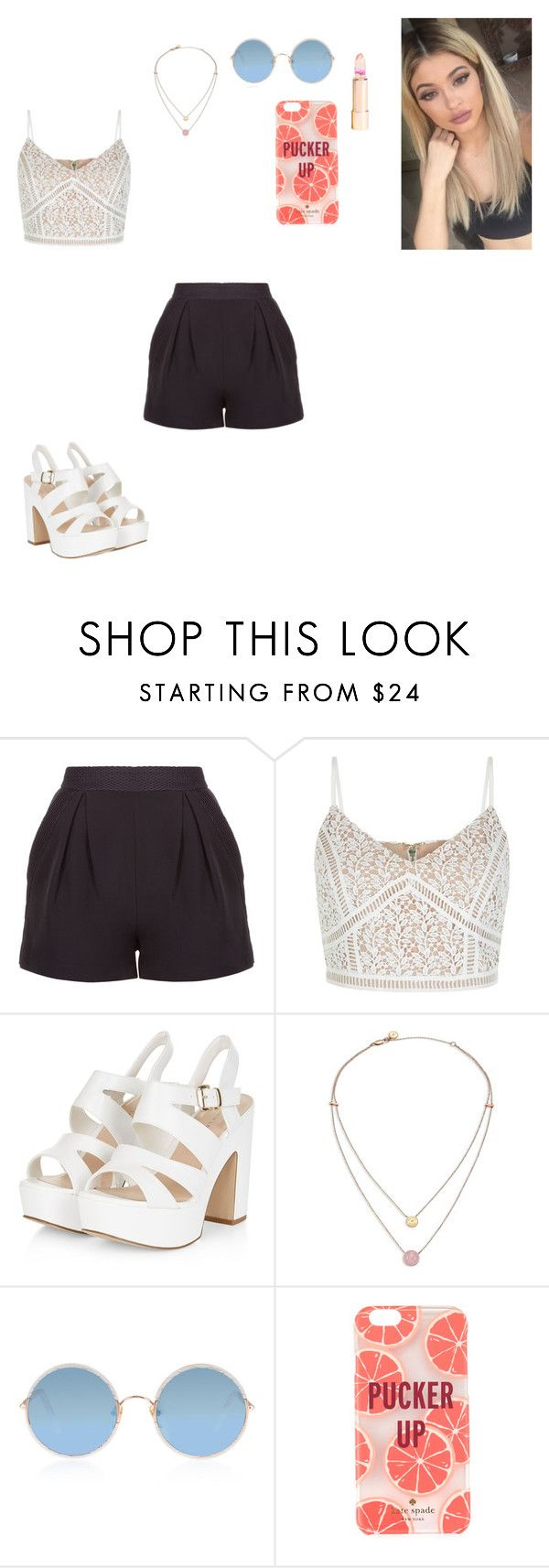 """summer"" by ashleyacoff on Polyvore featuring New Look, Michael Kors, Sunday Somewhere and Kate Spade"