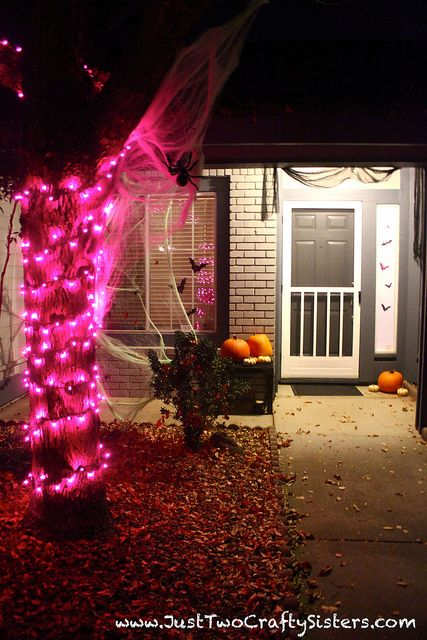 Halloween decorations by Just Two Crafty Sisters Just Two Crafty - good halloween decoration ideas