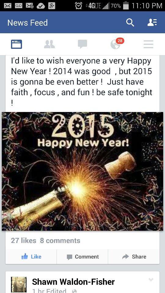 Breaking news. LaMont Gilbert Happy new year 2014
