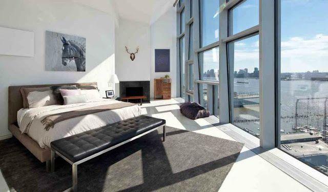 Fine Master Bedroom Bed Gray White Ultra Modern New York City Nyc Download Free Architecture Designs Rallybritishbridgeorg
