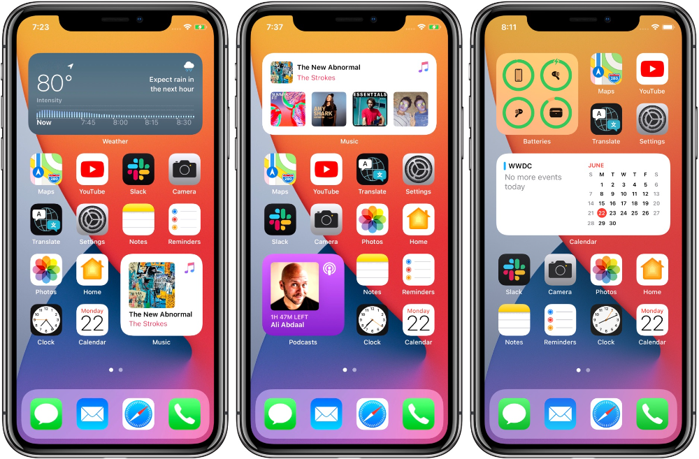 Twitter Roasts Apple S New Ios 14 Home Screen In 2020 Iphone Organization Homescreen Iphone Iphone App Layout