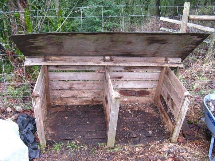 50 ideen zum thema komposter selber bauen gartengestaltung kompost selber bauen anleitung. Black Bedroom Furniture Sets. Home Design Ideas