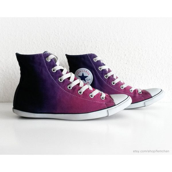be650b790f4c Orchid to deep purple ombre Converse Lite Hi