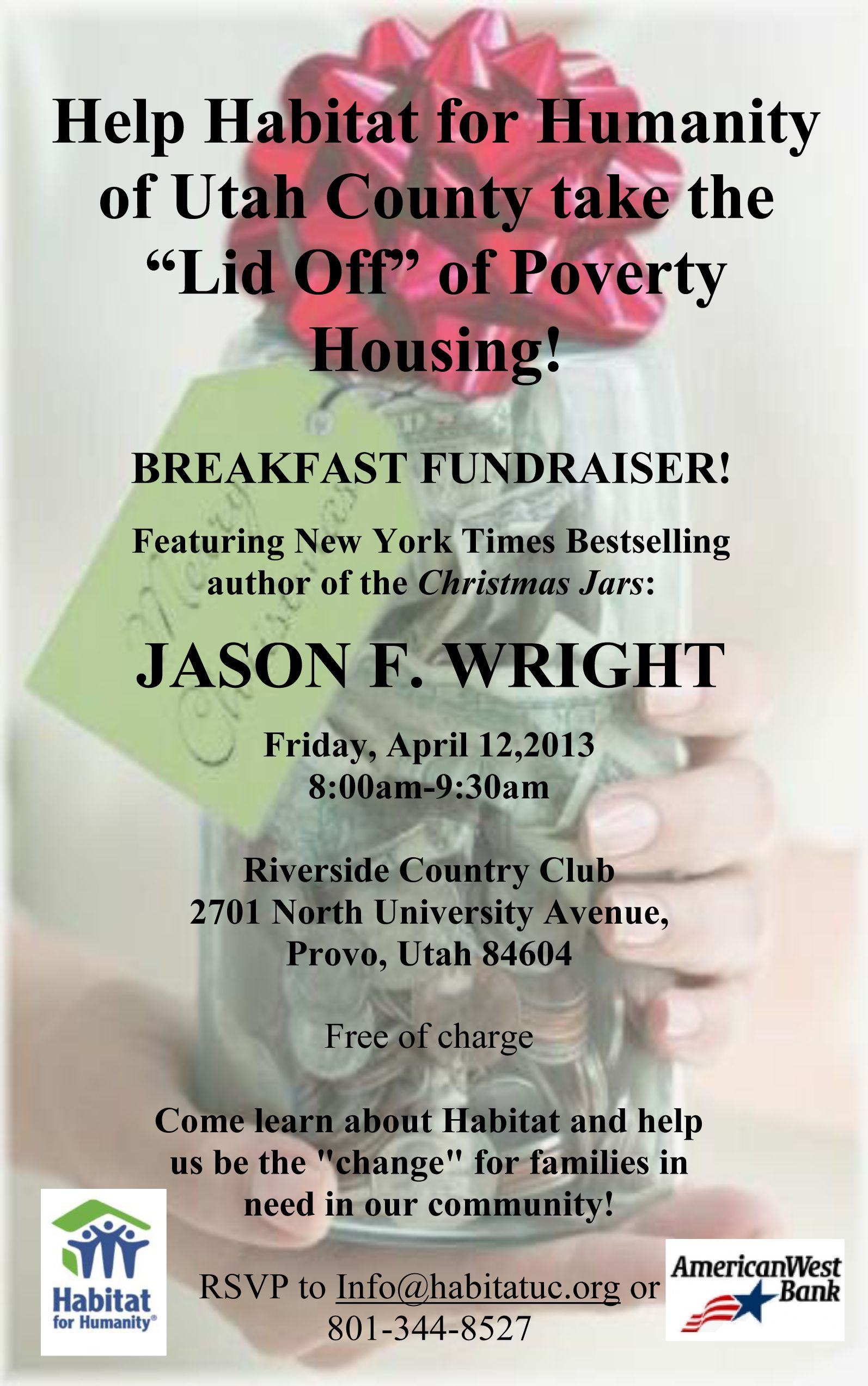 Breakfast Fundraiser!