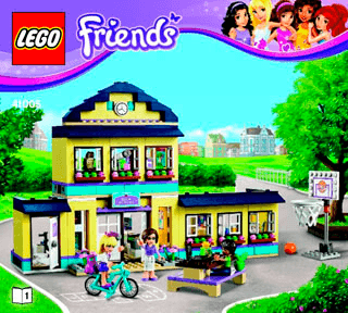 Lego Friends Building Instructions Legocom Lego Instruction