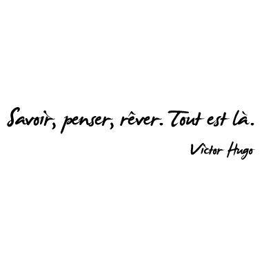 Citation Victor Hugo Citations Sur Les Mots Citation Je Pense A Toi