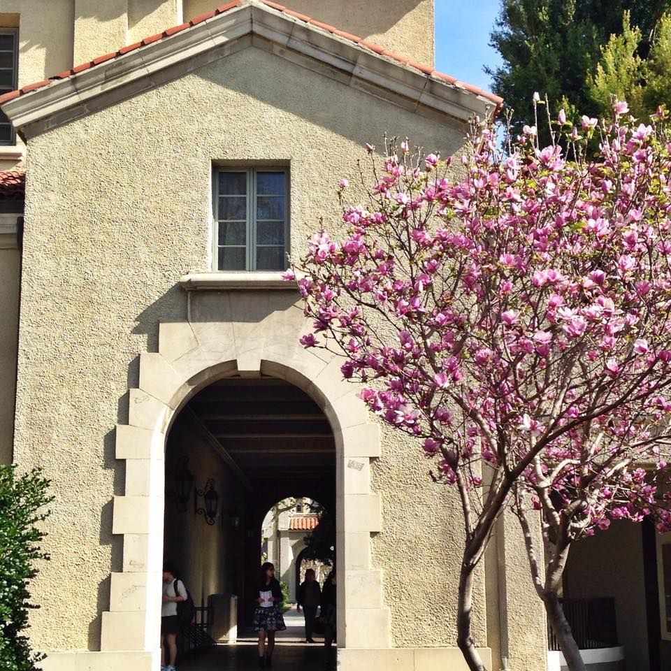 Pomona College In Claremont California Pomona College: A Beautiful February Day At Pomona College In Claremont, Ca.