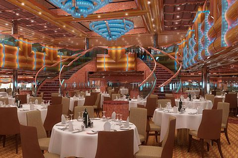 Carnival Magic Southern Lights Dining Roomthis Is Where We Ate Simple Carnival Cruise Dining Room Menu Inspiration Design