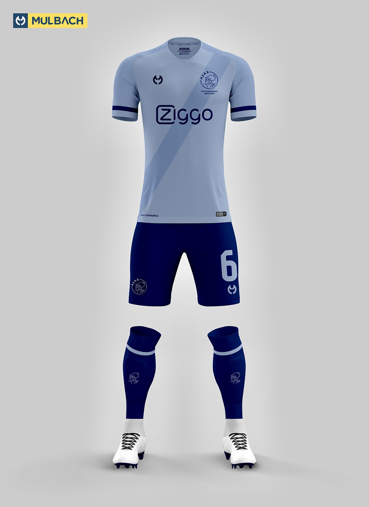 4440816c22b Ajax Amsterdam 2019/2020 Kits Concept on Behance | Uniformes ...