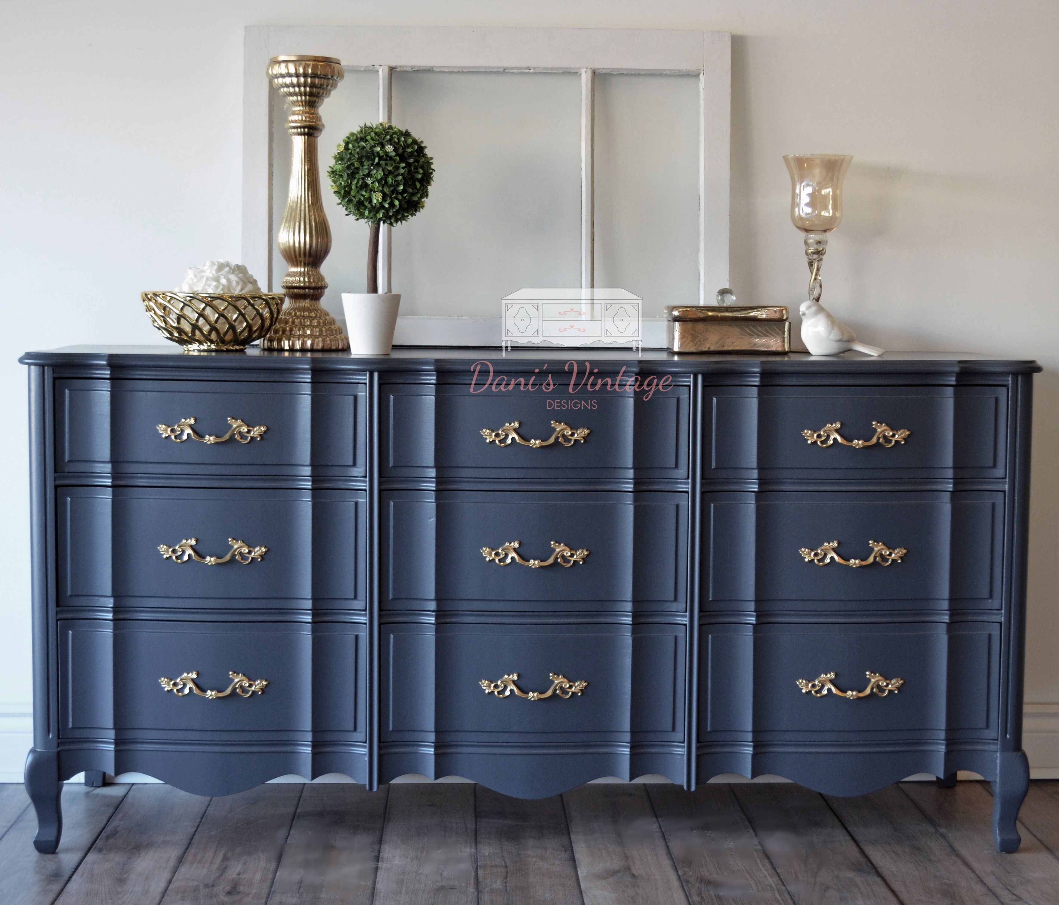 I Love This Solid Malcolm 9 Drawer French Provincial Long Dresser