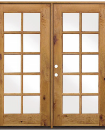 10 Lite Knotty Alder 8ft French Entry Door 72 X80 Ex 1400 French Entry Doors Entry Doors Glass French Doors