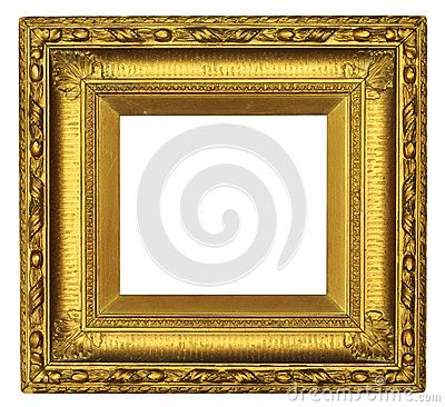 old picture frames | Antique picture frame with chipped and cracked ...