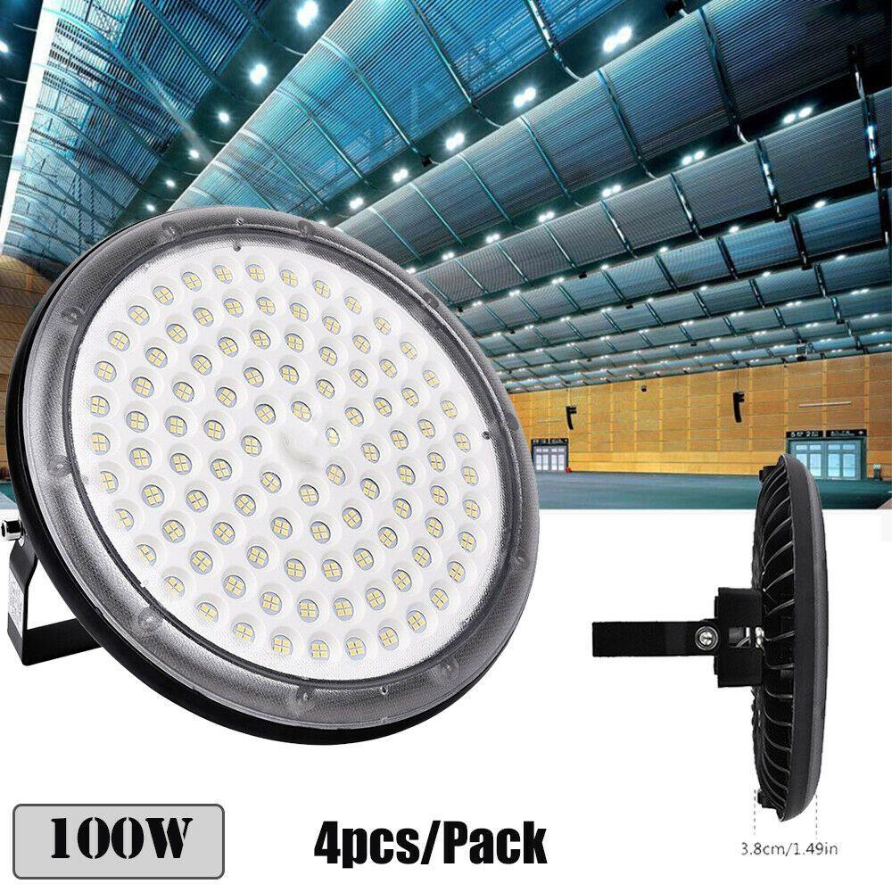 UFO LED High Bay Lights 250W 200W 150W 100W Factory Warehouse Gym Shop Lighting