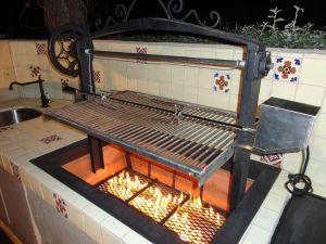 1920's themed Spanish Villa Santa Maria BBQ | Smokers and