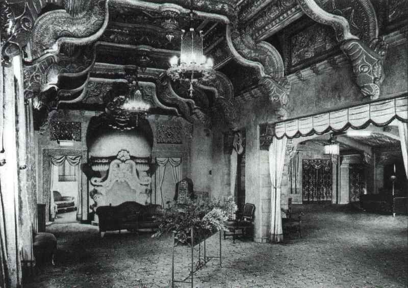Lounge In The Oriental Theatre, Portland Http://www.pstos.org