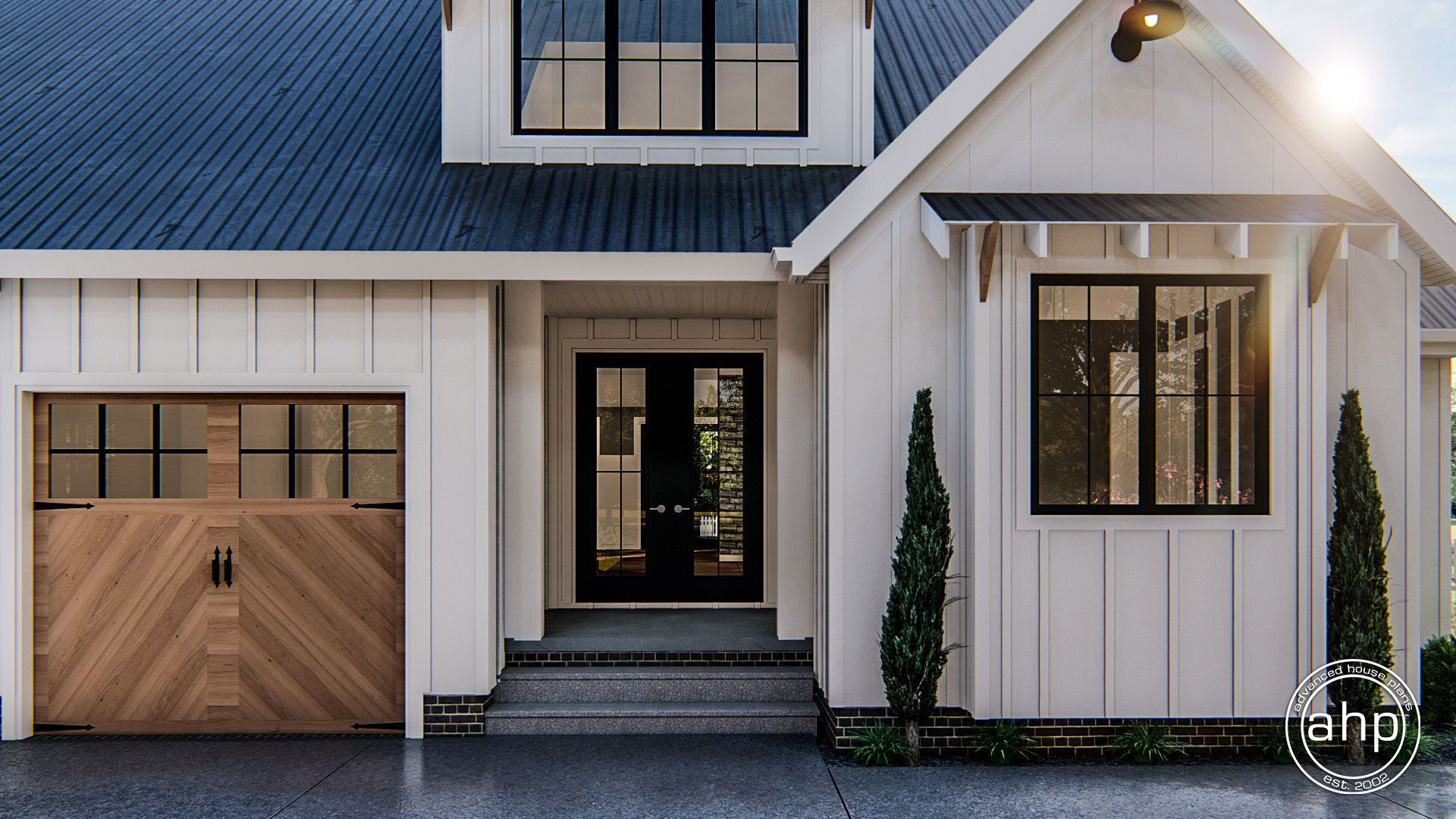 Sanibel 1 Story Modern Farmhouse House Plan   Modern ...