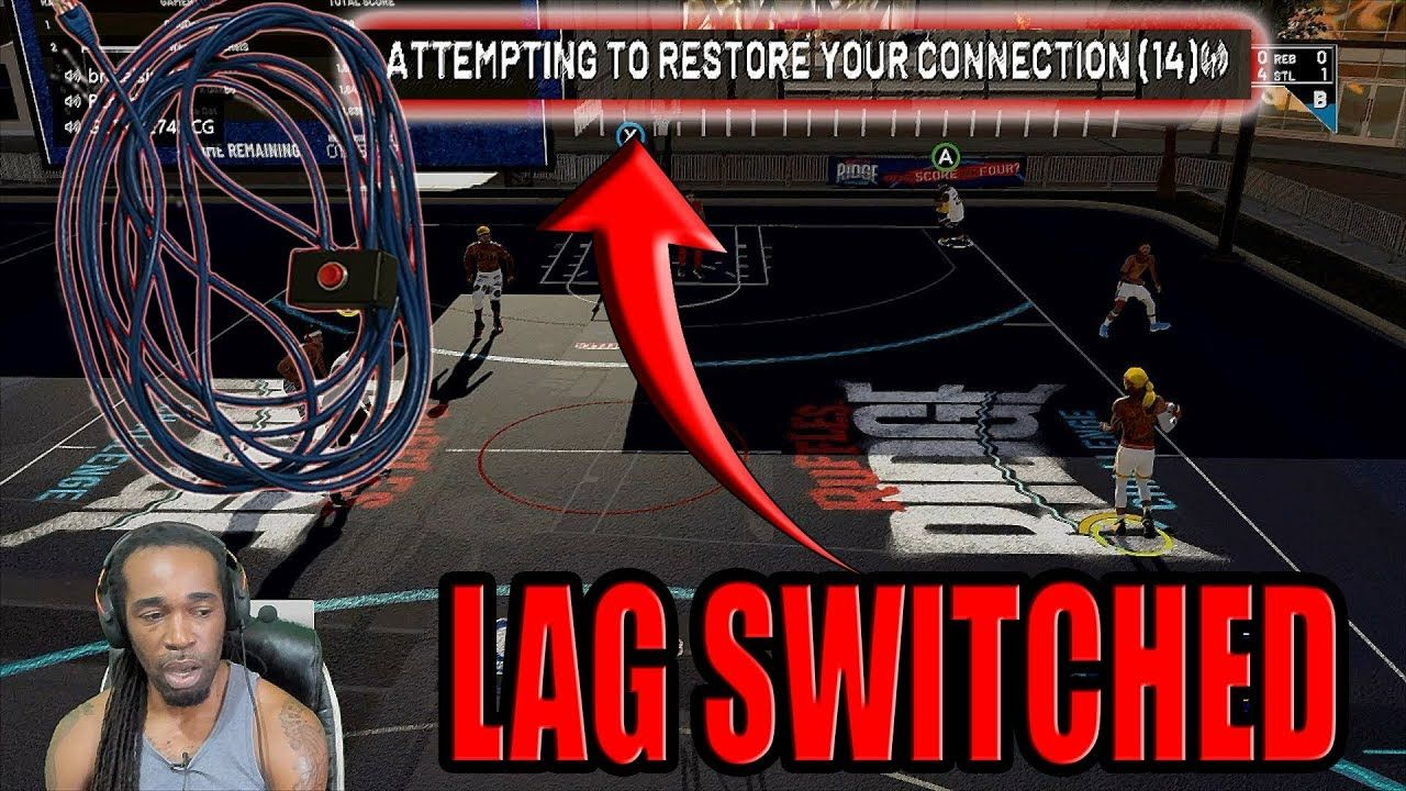 DID I JUST GET LAG SWITCHED OR 2K SERVERS TRASH?? - NBA 2K19