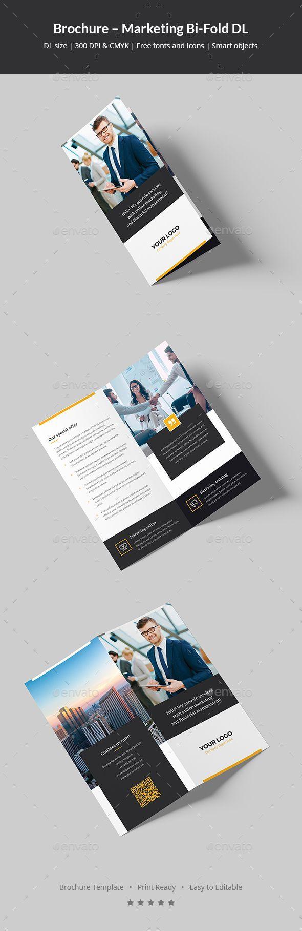 Brochure  Marketing BiFold Dl  Brochures Corporate Brochure
