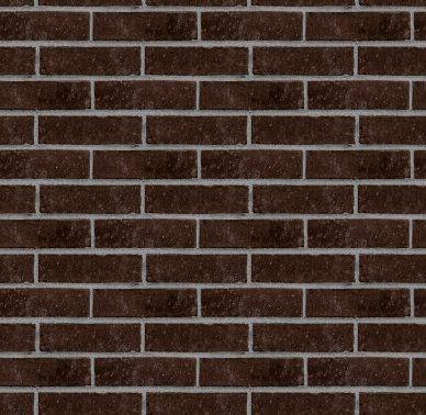 Dark Brown Bricks Wall 2019