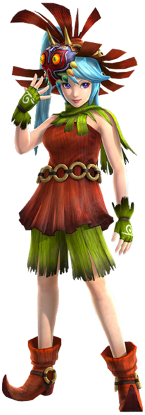 File Hw Lana Skull Kid S Clothes Png Hyrule Warriors Game Character Design Lana