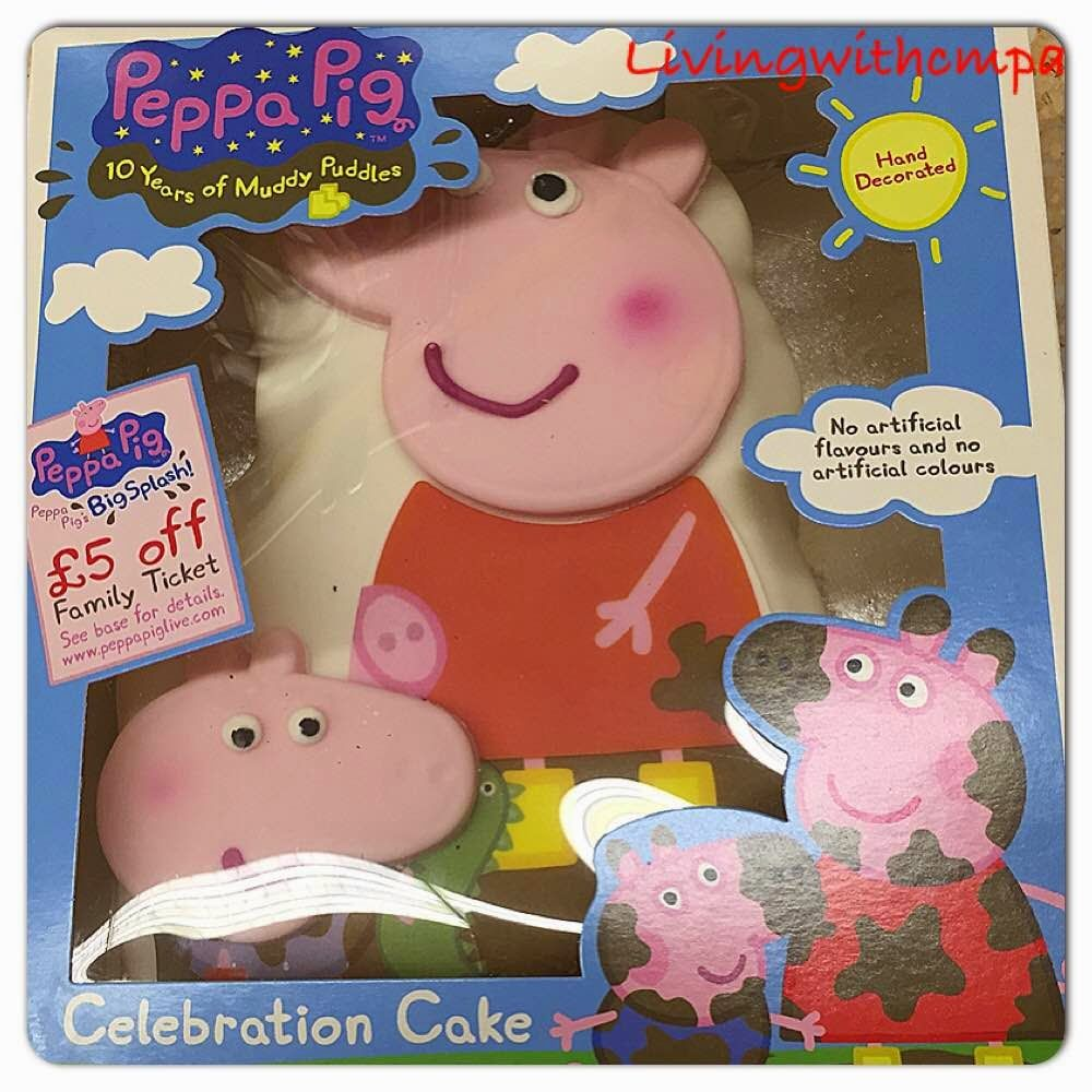Peppa Pig Birthday Cake Hong Kong
