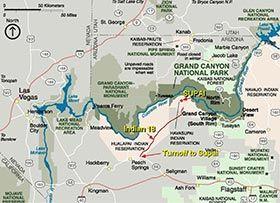Havasupai Indian Reservation Grand Canyon National Park US