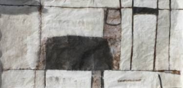 On the Edge 3 Painting / drawing in raw powder colour, acrylic, charcoal and ink on paper 63 x 130 inches http://www.fearnfineart.moonfruit.com