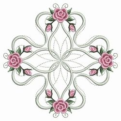 Pearl Roses Quilt 9 - 3 Sizes! | Quilt | Machine Embroidery Designs | SWAKembroidery.com Ace Points Embroidery