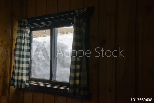 Snow packed against a wood cabin window as seen from the inside , #AFFILIATE, #packed, #Snow, #wood, #window, #cabin #Ad