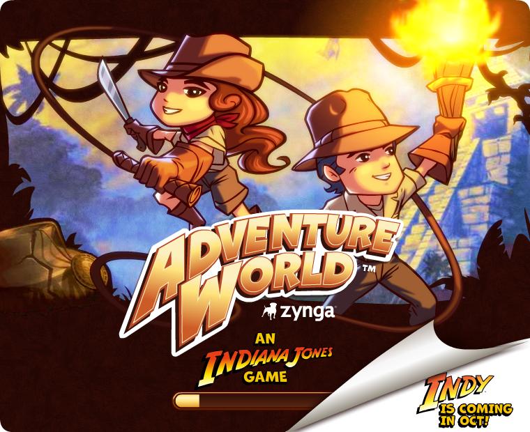 Zynga Adventure World Loaderscreen game