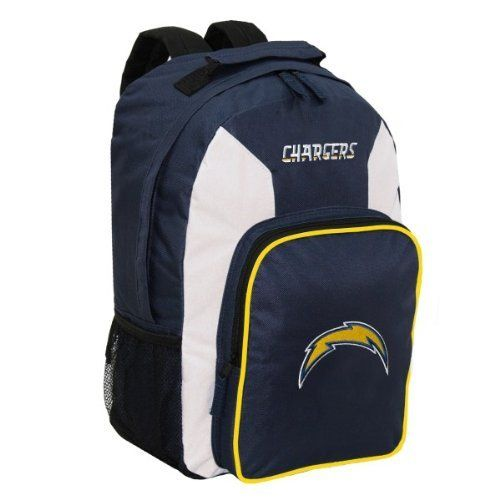 San Diego Chargers Backpack: NFL San Diego Chargers Southpaw Backpack, Navy, Medium By