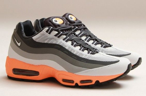 finest selection 32361 af727 Nike Air Max 95 No-Sew – Light Base Grey   Summit White – Iron