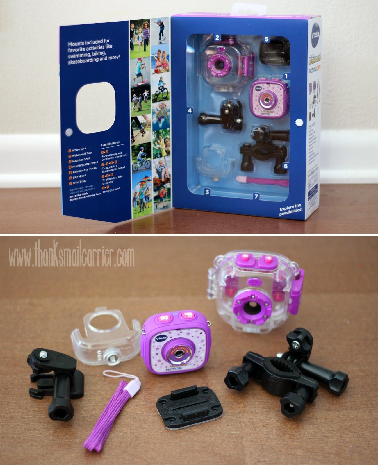 VTech Kidizoom Action Cam pieces | grampao68 in 2019