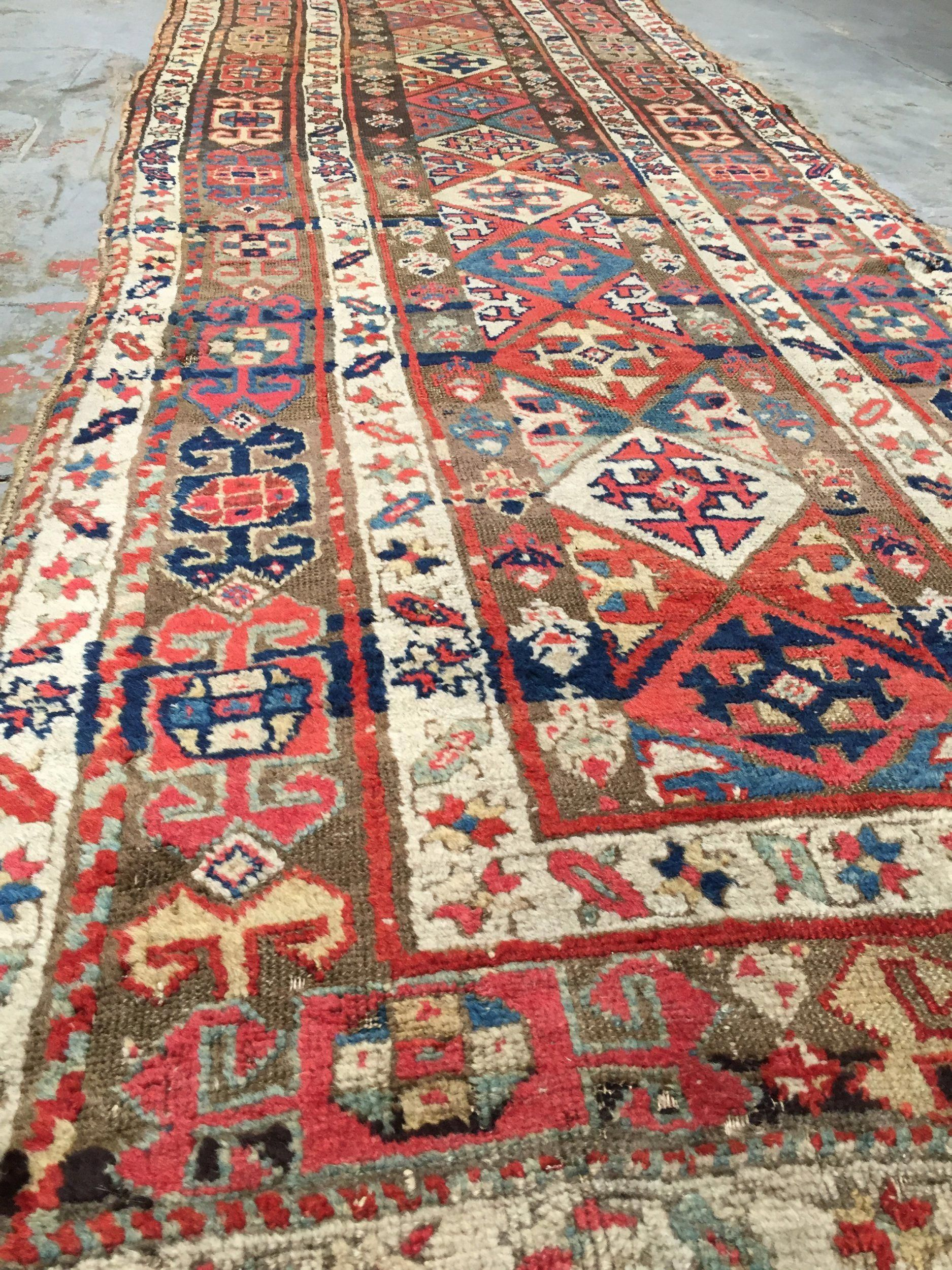 Antique Nw Persian Runner Rug 3 5 X 12 7 Runnerrugs Rug Runner Persian Rug Runners Rugs