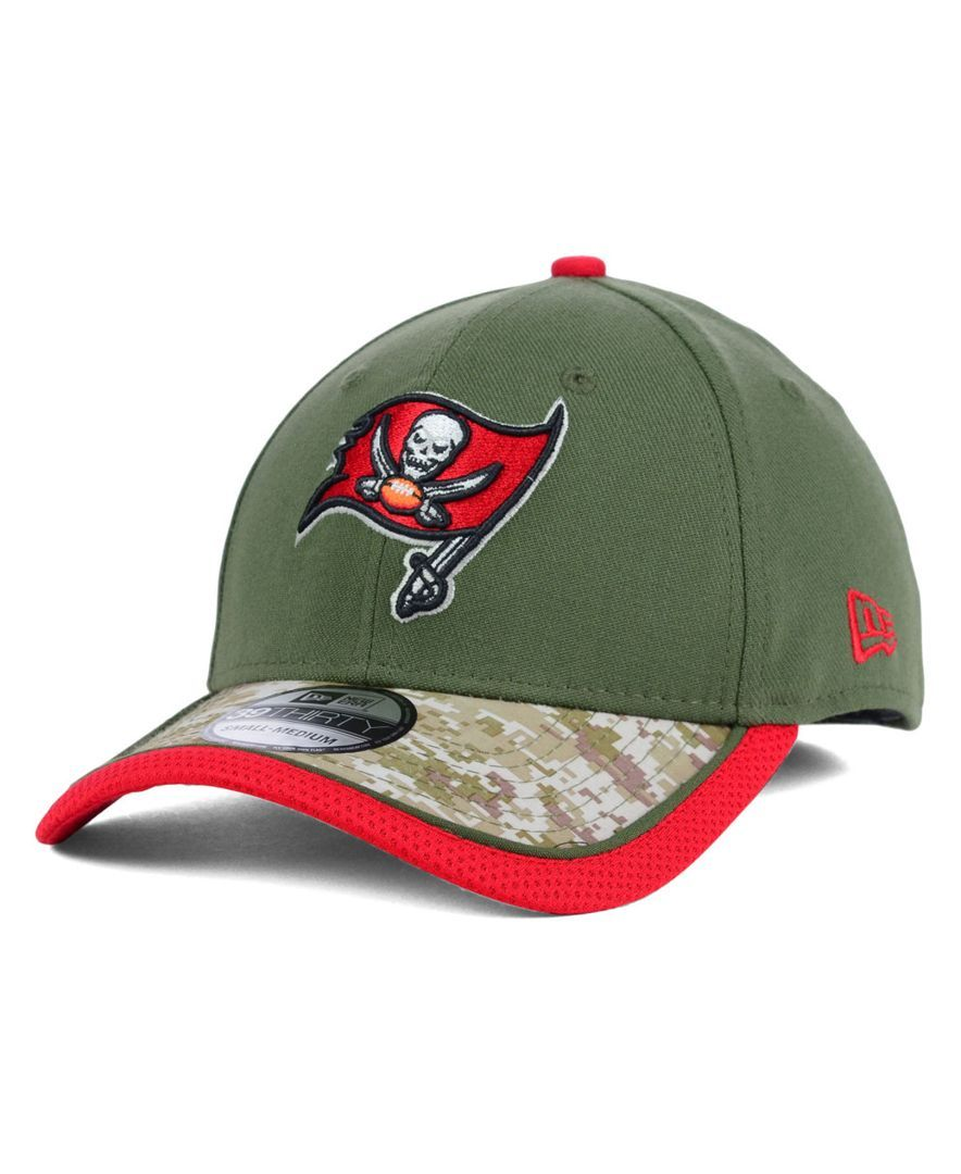 New Era Tampa Bay Buccaneers Salute to Service 39THIRTY Cap ... f7dd07fcf48
