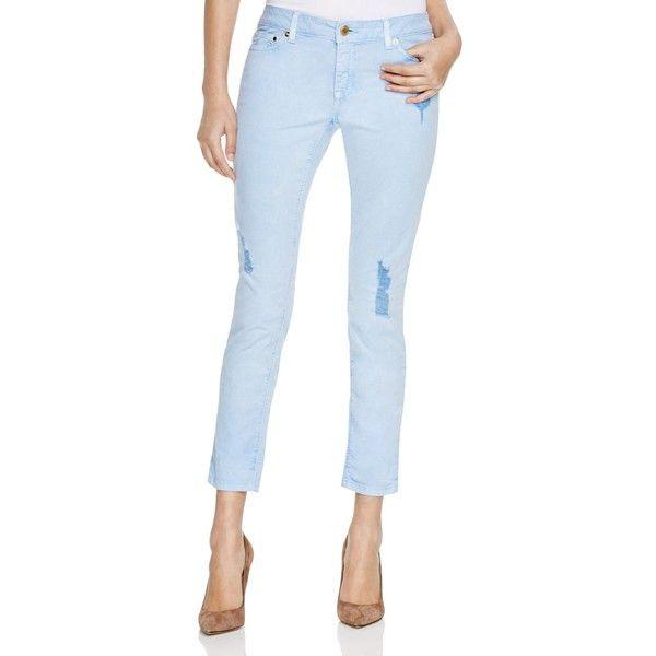cropped skinny jeans - Blue Michael Michael Kors hfg5S