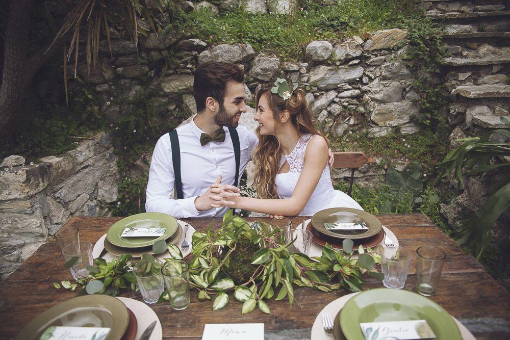 Un matrimonio botanico in Liguria