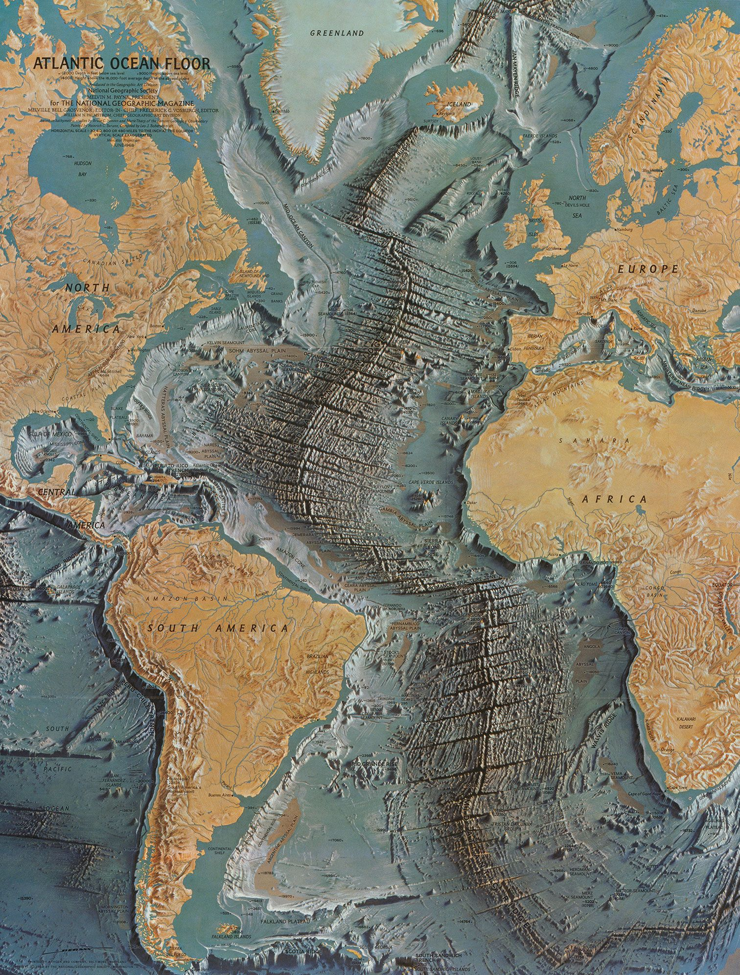 Marie Tharp's incredible maps were integral to the acceptance of the plate-tectonic theory.