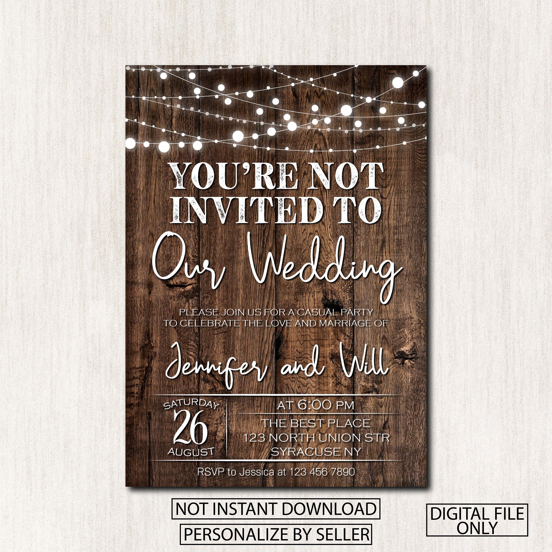 Not Invited To Wedding Meme