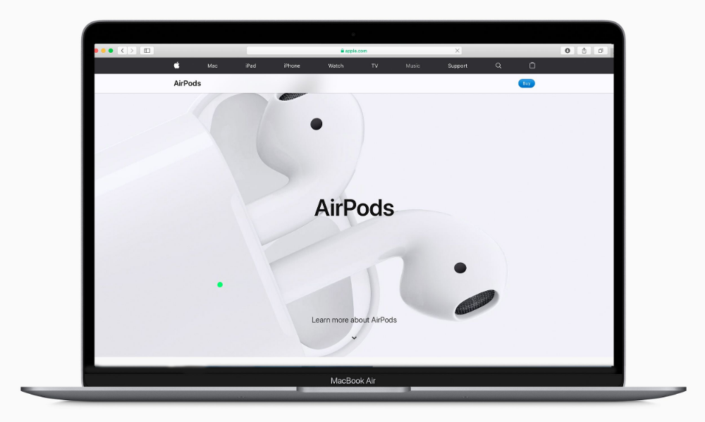 Connect Airpods To Your Macbook In A Couple Easy Steps Macbook Apple Menu Wireless Audio
