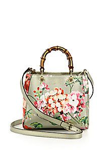 51b6b4f78aa Gucci - Bamboo Shopper Mini Blooms Bag ( )
