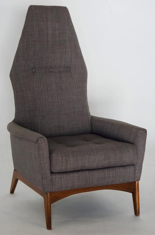 Prime Mid Century Adrian Pearsall High Back Lounge Chair Jon Camellatalisay Diy Chair Ideas Camellatalisaycom