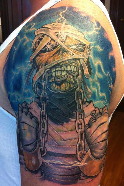 Iron Maiden Tattoos Google Search Iron Maiden Tattoo Heavy Metal Tattoo Metal Tattoo