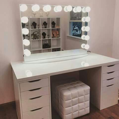 diy lighted makeup vanity. Impressions Vanity Hollywood Mirrors Are The Perfect Mirrors For All  Your Makeup And Decor Selfie Needs Pin By Desirea Espinoza On Makeup Ideas Pinterest Vanities