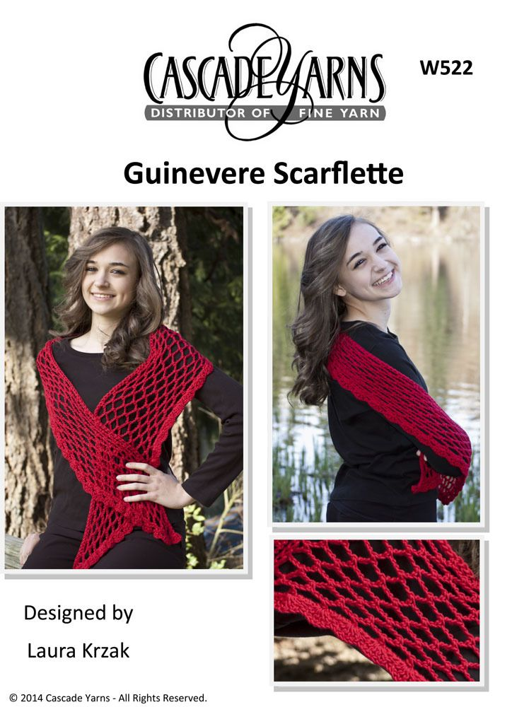 Guinevere Scarflette in Cascade Avalon - W522