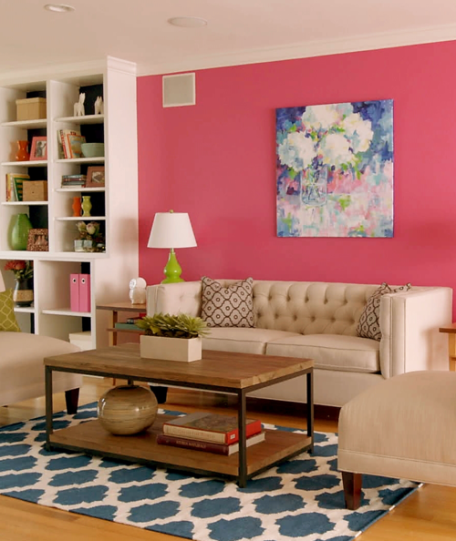 designmeetstyle: Let\'s be fearless with color. Contrast bold pattern ...