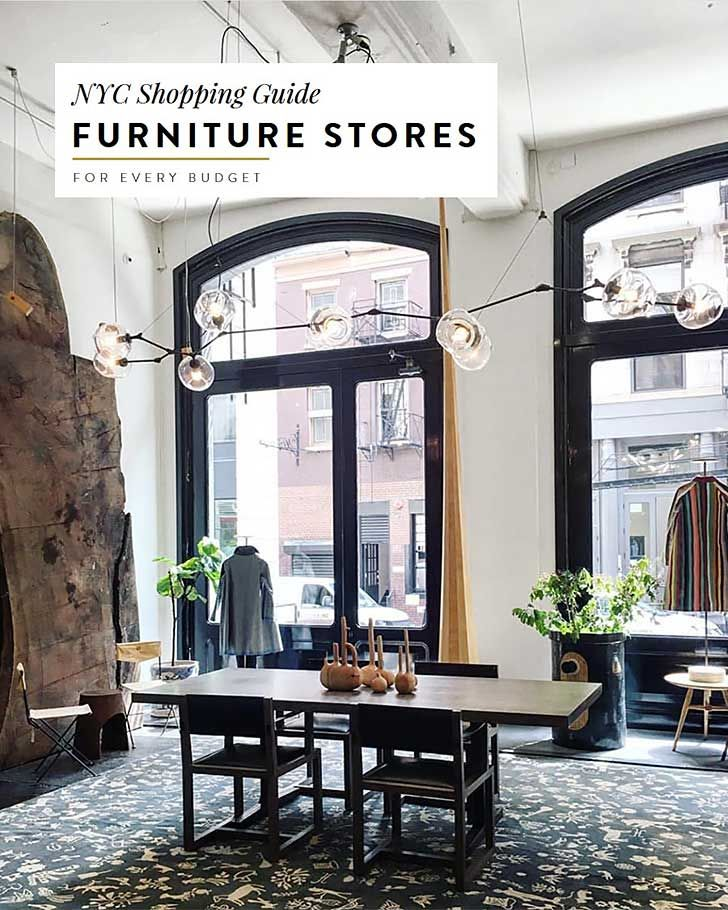 The Best Furniture Stores In Nyc For Every Budget New York City
