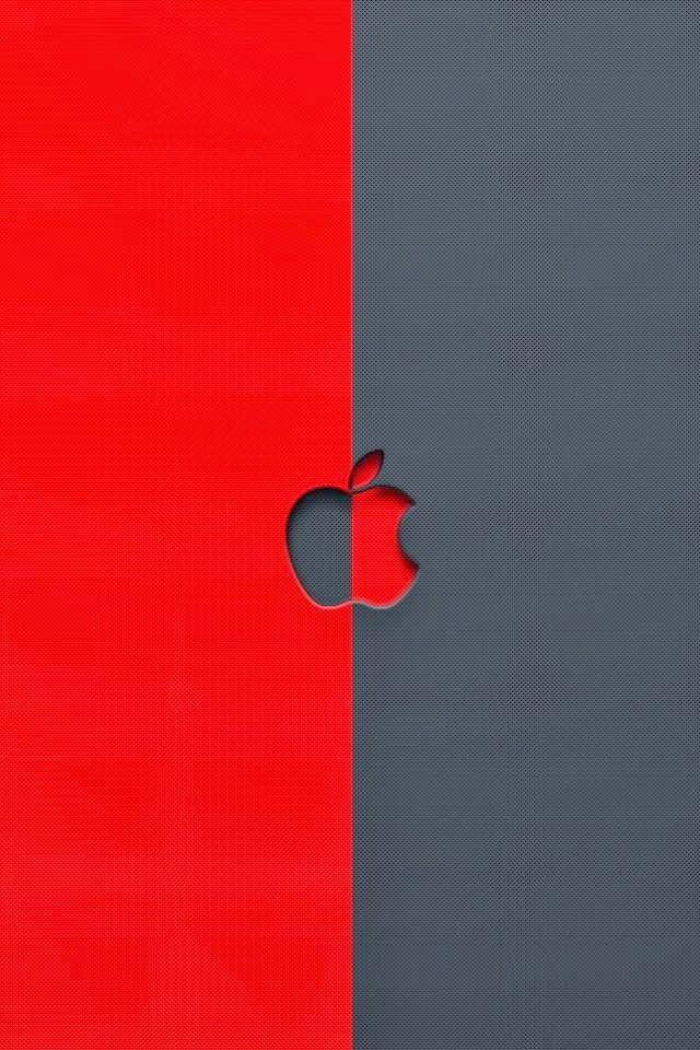 Red Apple Logo Iphone Wallpaper Bing Images Apple Logo